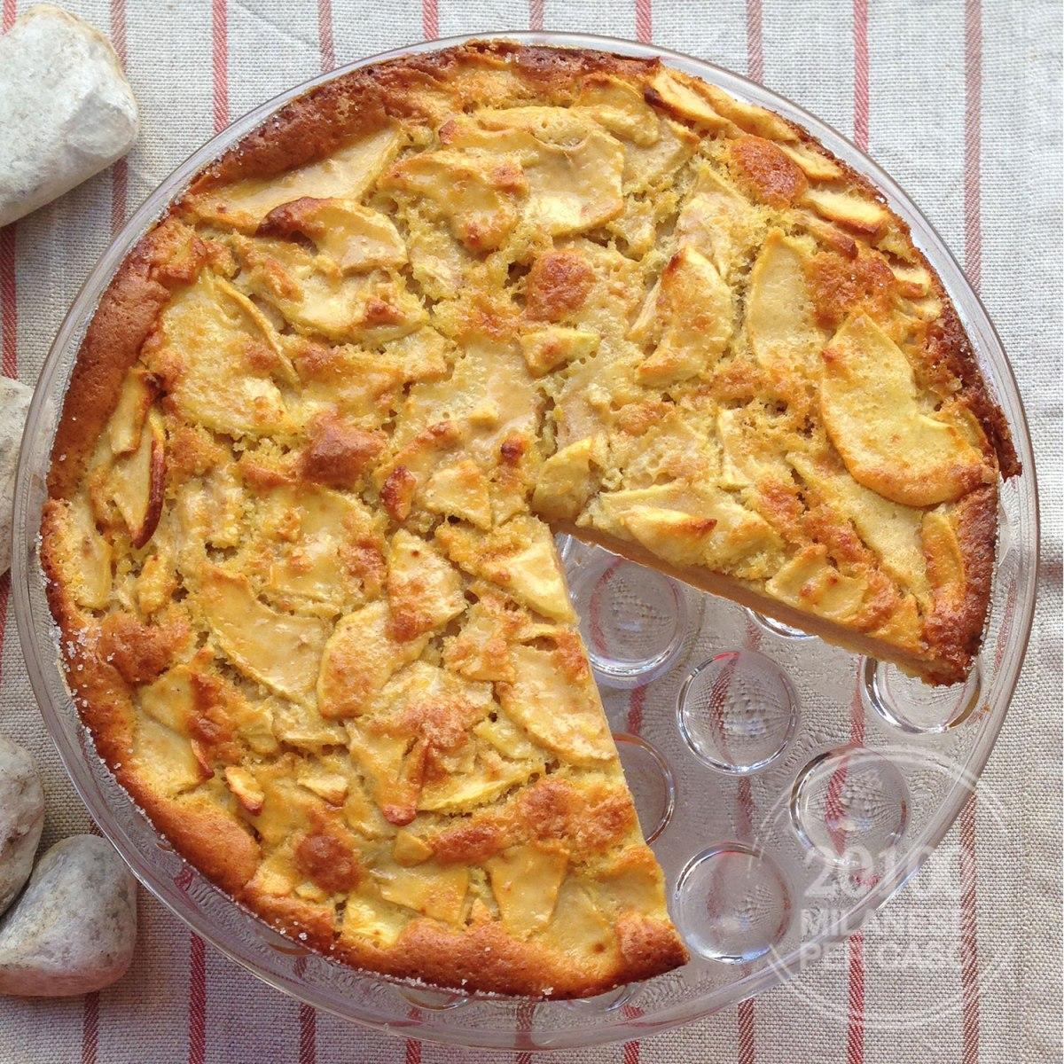 Torta di mele, un classico rivisitato in versione ligth