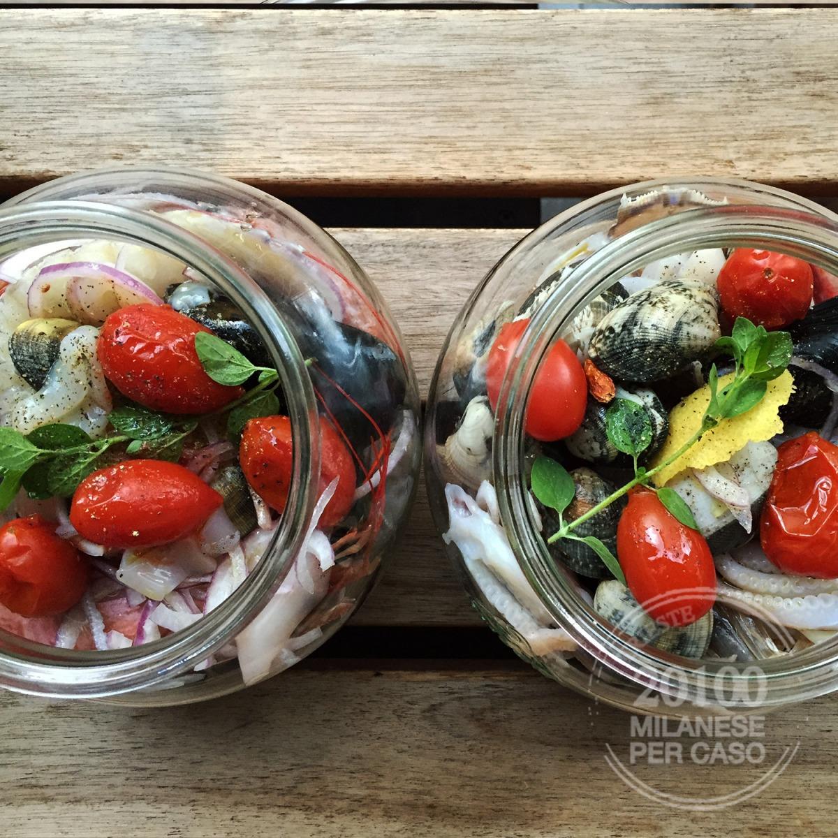 Zuppa di pesce super veloce con la vaso cottura